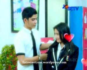 Foto Aliando dan Prilly GGS Episode 159