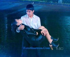 Aliando Menggendong Prilly GGS Episode 177