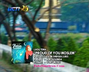 Lirik Lagu - Proud of You Moslem - Fatin - OST Aisyah Putri Jilbab In Love