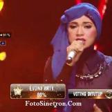 Indah Nevertari - Nirmala - Siti Nurhaliza - Rising Star Indonesia Lucky 7