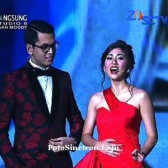 Kevin Julio dan Jessica Mila SCTV Award 2014