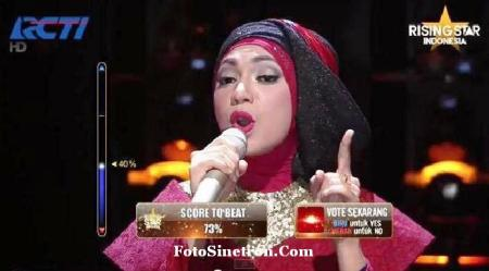 Indah Nevertari Juara Rising Star Indonesia