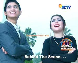 Behind the Scene Aliando dan Prilly