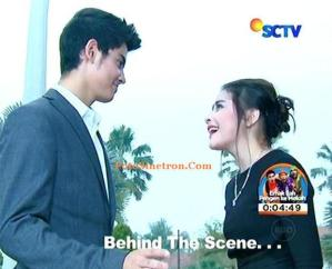 Behind the Scene GGS Aliando dan Prilly