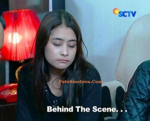 Behind the Scene Prilly Tertidur