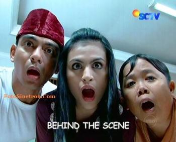Behind The Scene Samson dan Dahlia