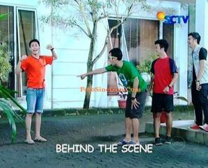 Behind The Scene Samson dan Dahlia SCTV
