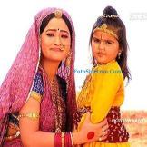 Dhriti Bhatia Pemeran Krishna kecil