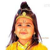 Pinky Rajput Pemeran Krishna kecil