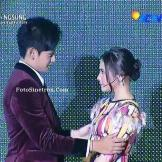 Prilly Latuconsina dan Randy Martin SCTV MUSIC Awards 2015