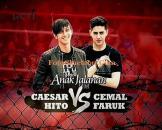 Caesar Hito vs Cemal Faruk Anak Jalanan