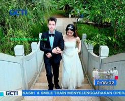 Foto Pernikahan Boy dan Reva Anak Jalanan